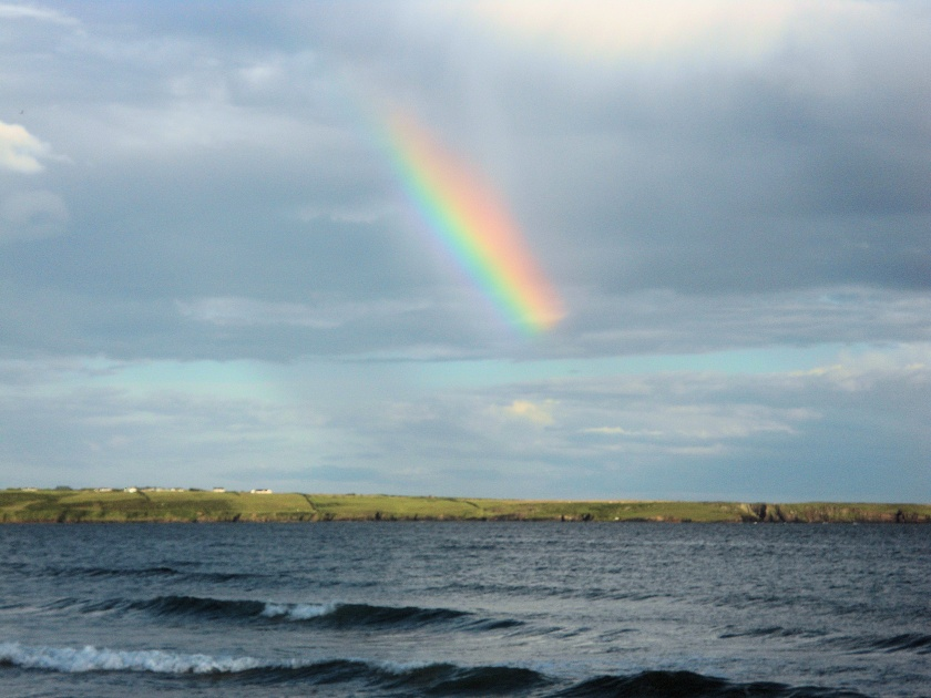 Rainbow over Tramore Bay, Co. Waterford