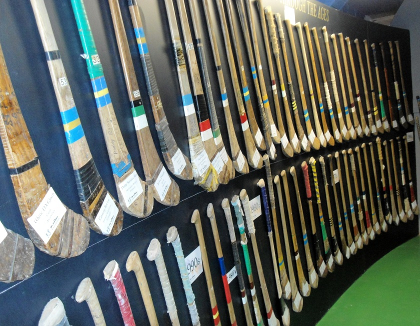 Collection of Hurleys at Lar na Pairce, Thurles, Co. Tipperary