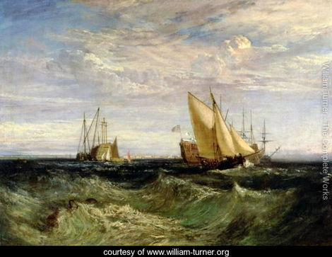 A Windy Day(J.M.W. Turner)