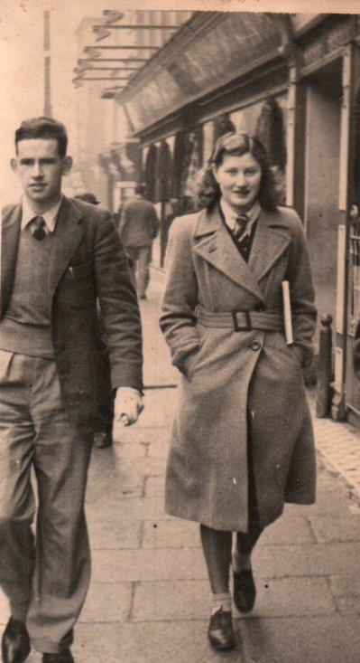 Mother and Father in 1940s(Earliest Photograph of them Together)