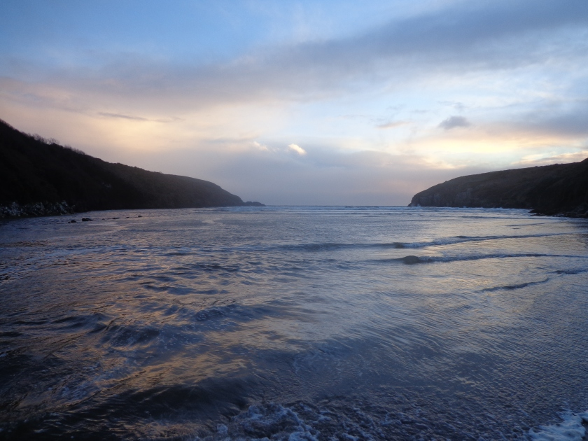 Sunset at Stradbally Cove, Co. Waterford