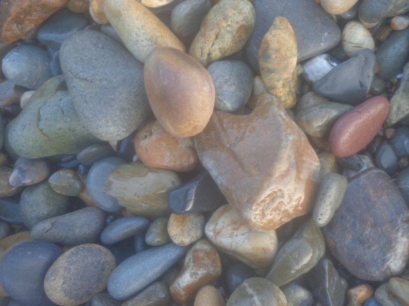 Stones at Newtown Cove, Tramore, Co. Waterford