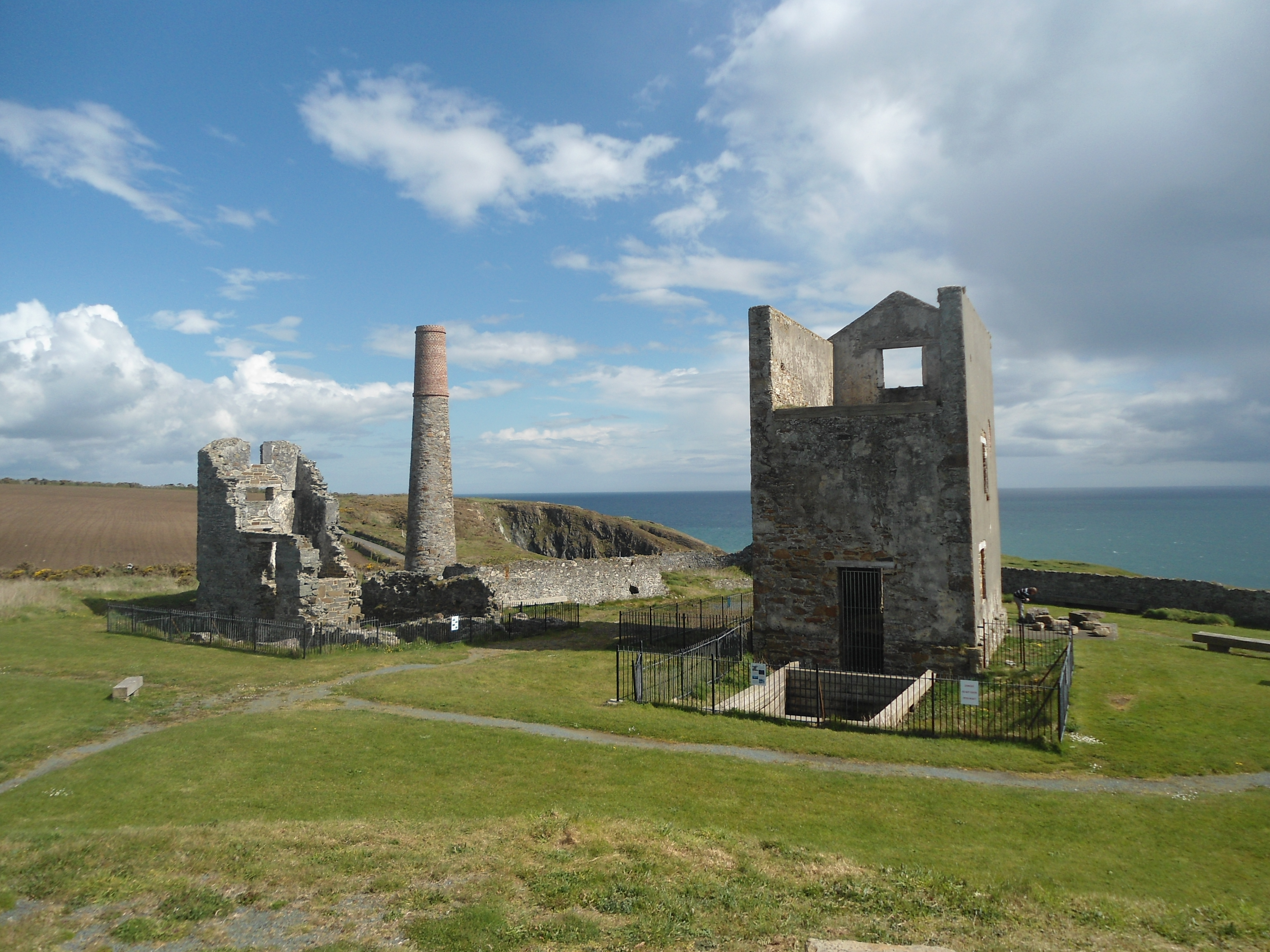 Restored Copper Mines at Tankardstown, Co. Waterford