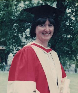 Graduation Photo, 1991 Photo by: Frank Tubridy