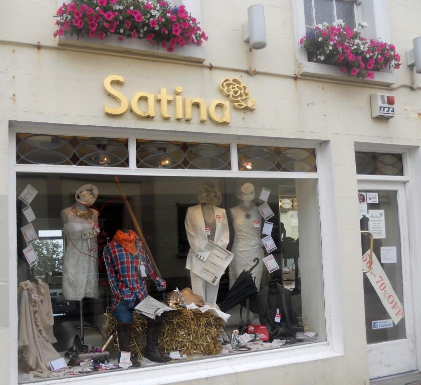 Satina Boutique, Queen Street, Tramore.