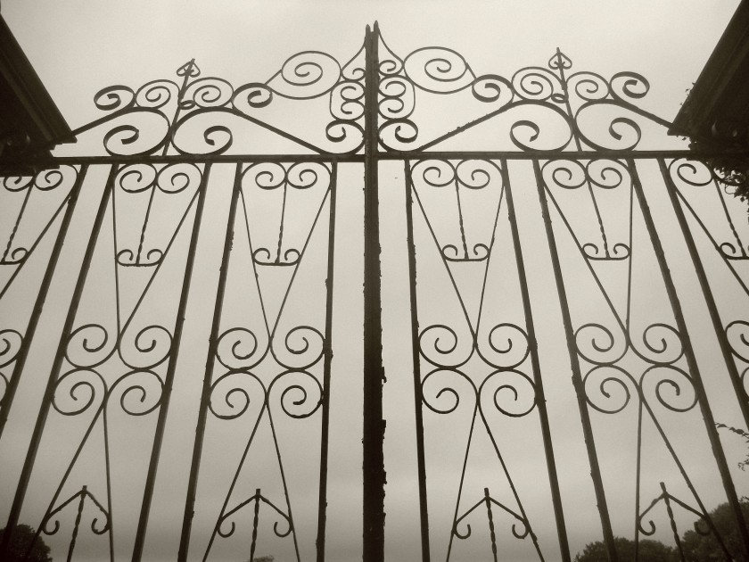 Gate at Mount Congreve Gardens, Co. Waterford