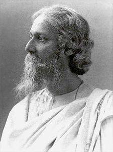 Rabindranath Tagore (Source: Wikipedia)
