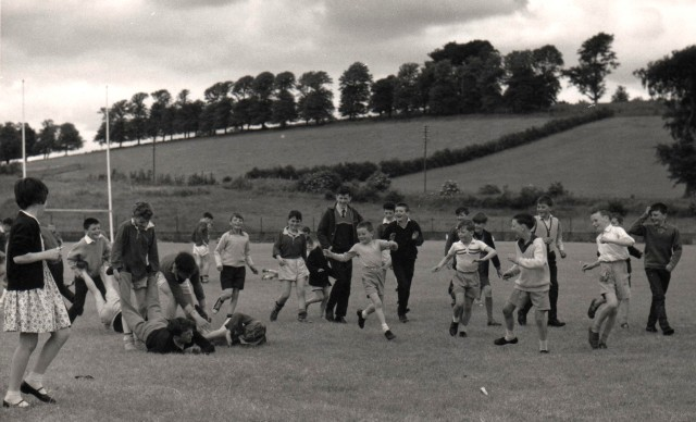 Wheelbarrow Race, Castleblayney, Co. Monaghan