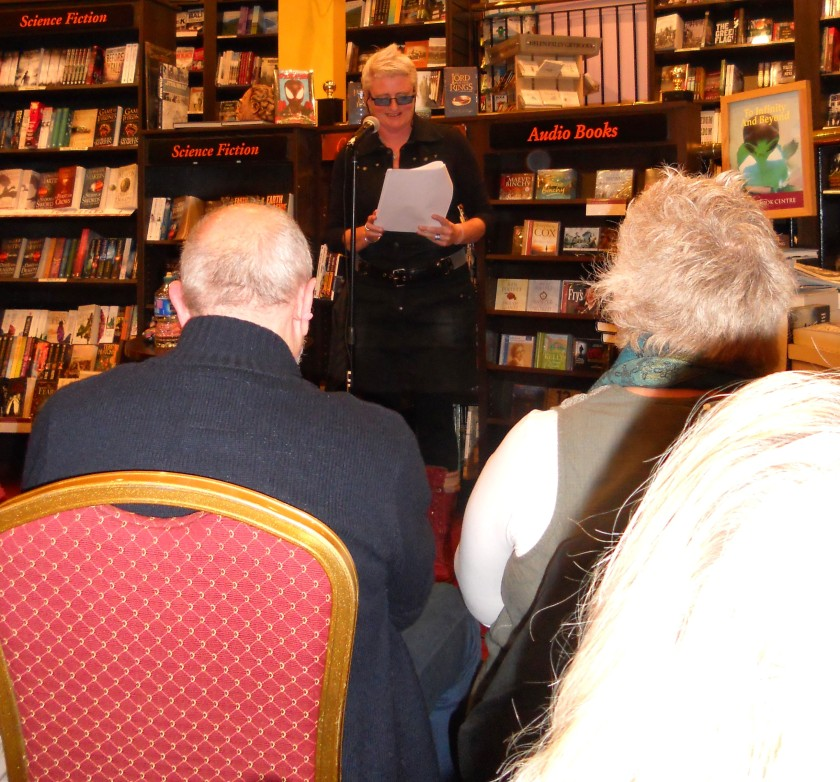 Waterford Actress, Lynda Gough, reading Selections
