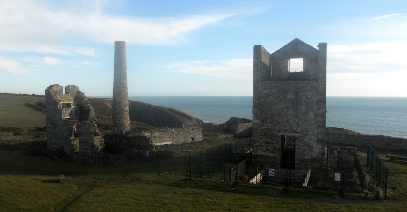 Old Mining Works at Tankardstown, Copper Coast, Co. Waterford