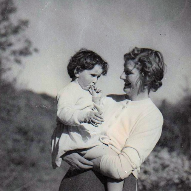 Mother and Me Photo: frank Tubridy