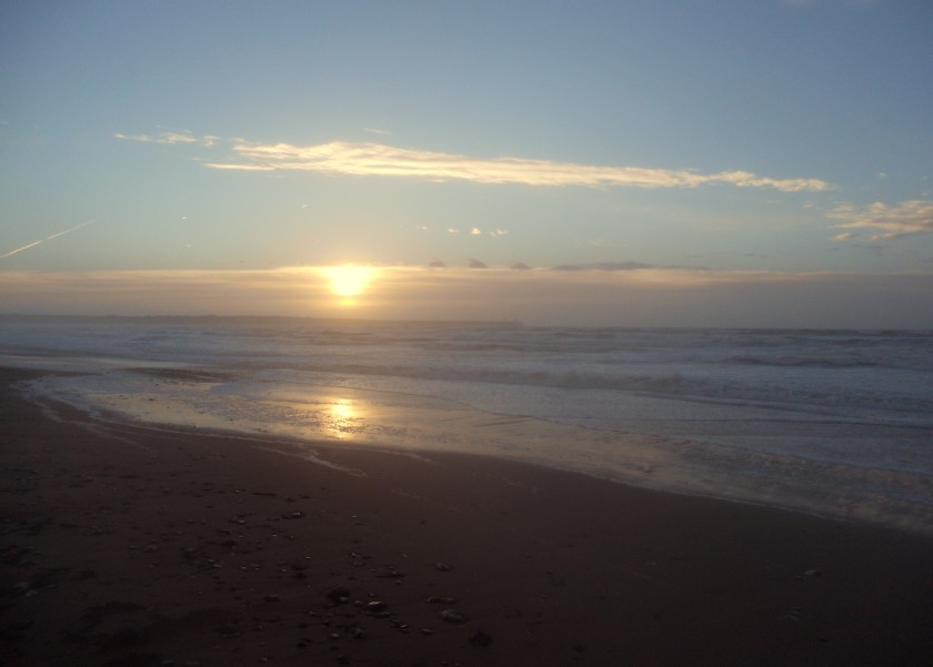 Sunrise at Tramore Beach, Co. Waterford