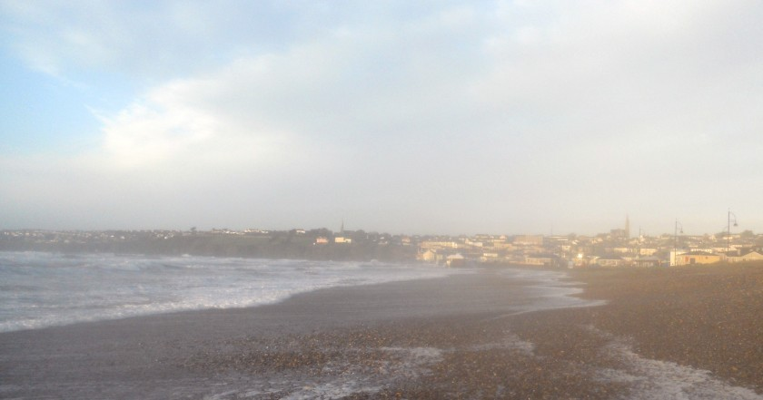 Tramore Town at Sunrise