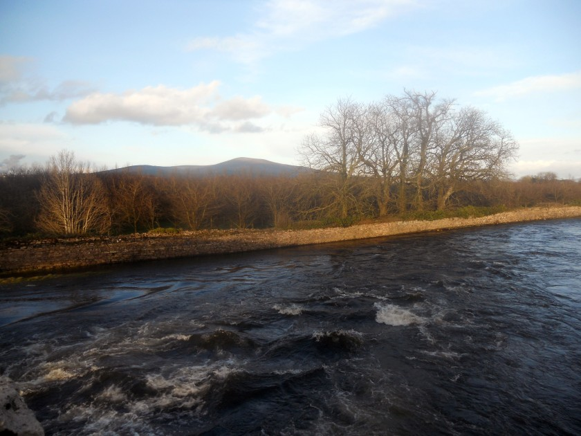 River Suir from Sir Thomas' Bridge near Clonmel, Co. Tipperary.