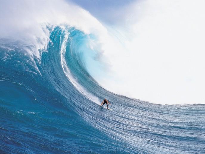 Surfing meditation