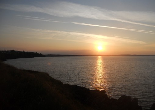 Sunrise over Tramore Bay, Co. Waterford