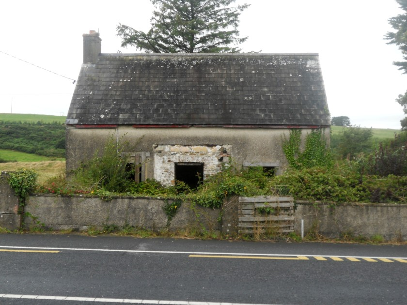 Derelict Cottage on the Tramore-Waterford Road