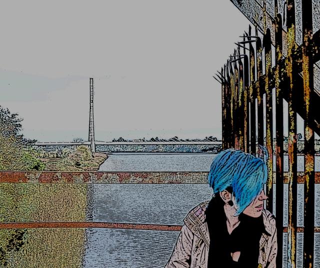 The Red Iron Bridge, Waterford City, Ireland