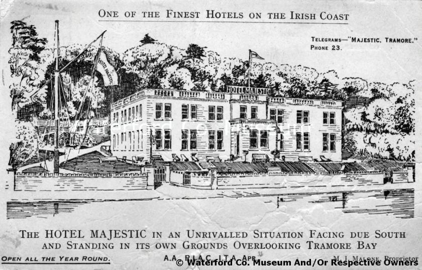 The Majestic Hotel  Source: Waterford Co. Museum