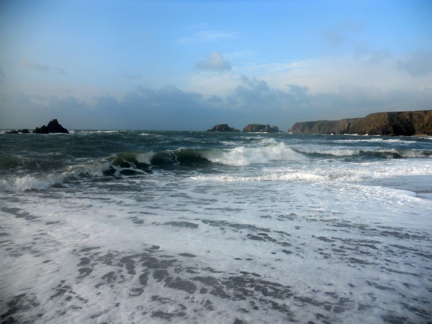 Garrarus Beach, Co. Waterford on November 1, 2014.