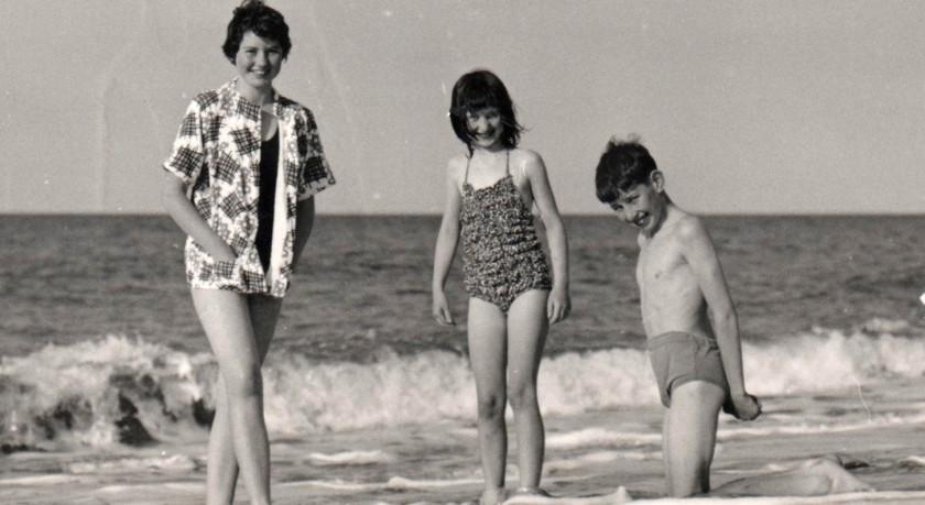 Big Sis, Big Bro and Me Photo: Frank Tubridy