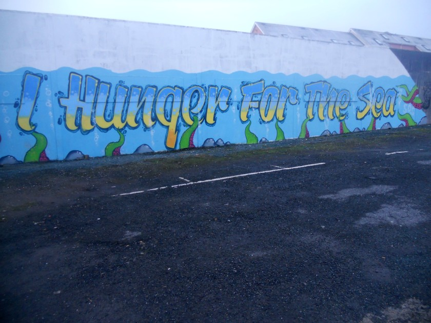 Mural in Tramore, Co. Waterford.
