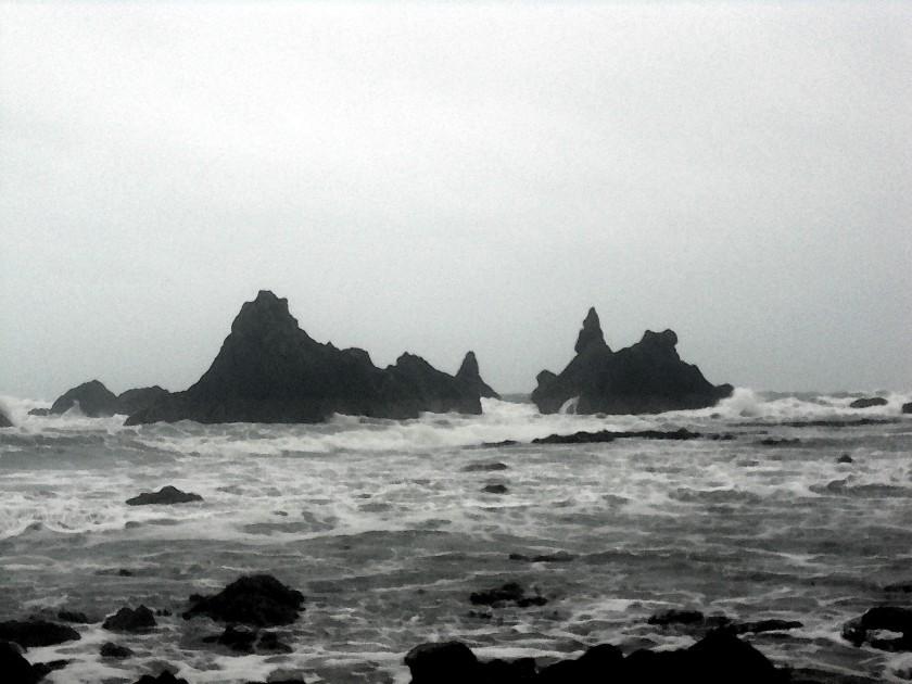 Kilfarrasy Beach, Jan 1, 2015