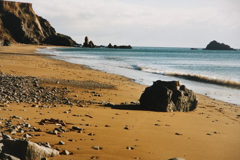Kilfarrasy Beach, Co. Waterford Photo: Frank Tubridy