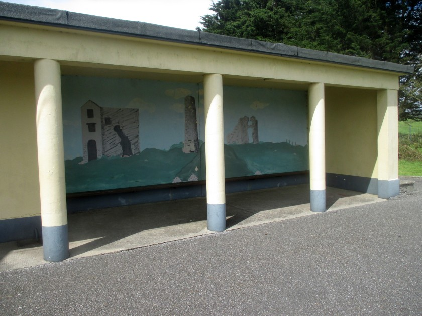 Mural of the Copper Mining Works at Tankardstown