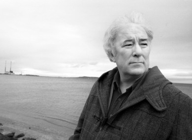 Seamus Heaney Image: Eamonn Farrell/Photocall Ireland