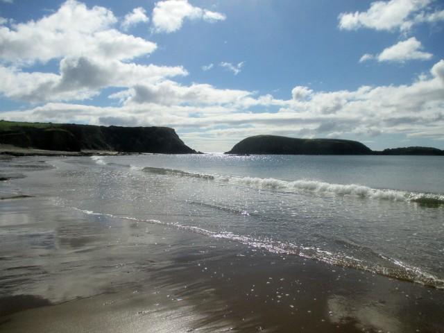 Glistening Annestown Beach, Co. Waterford