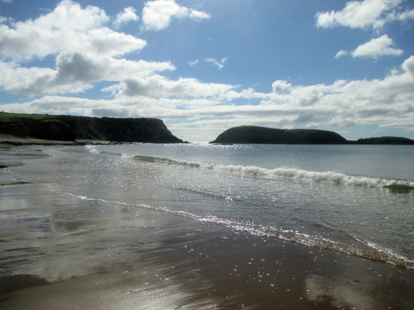 Glistening Annestown Beach, Co. Waterford