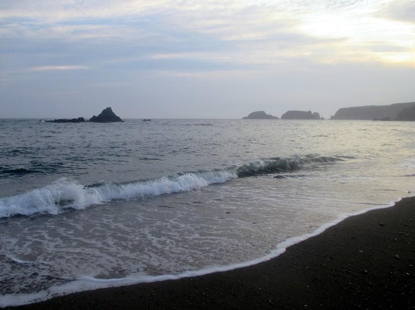 Garrarus Beach at Sundown