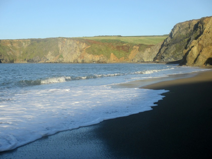 Light and Shade at Garrarus Beach, Co. Waterford