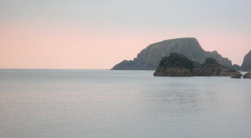 Garrarus Beach at Sunset