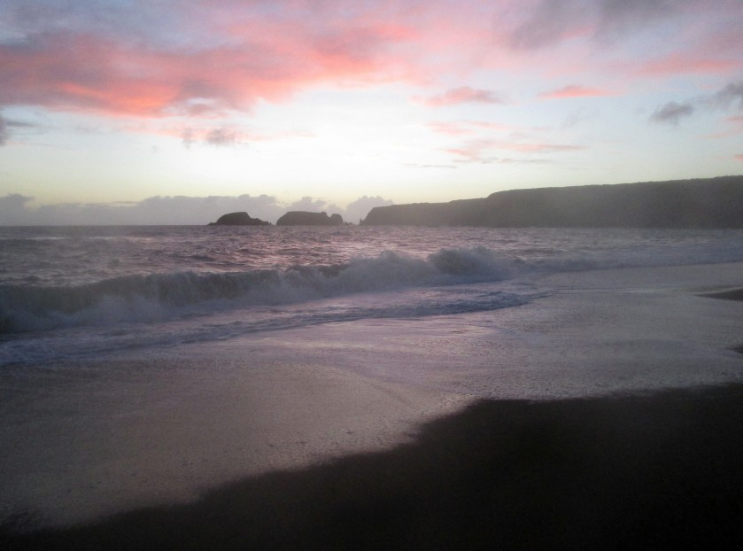 Garrarus Beach at Sunset