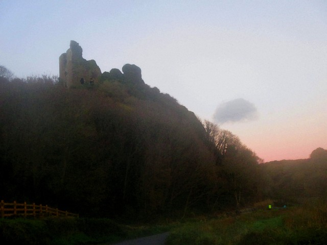 Dunhill Castle, Co. Waterford.