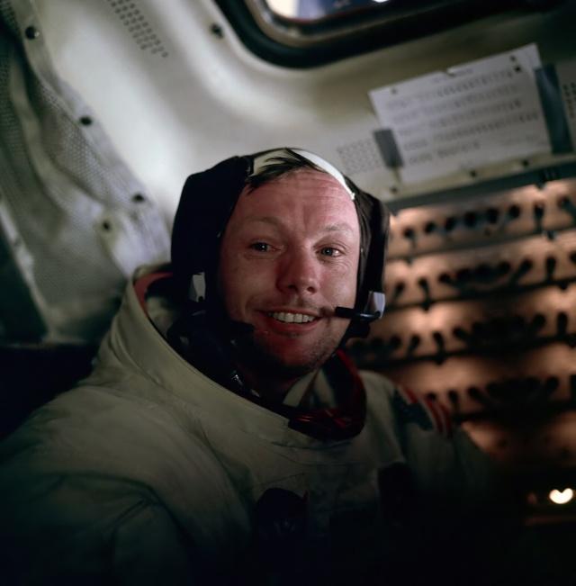 Neil Armstrong (Source: Wikimedia)