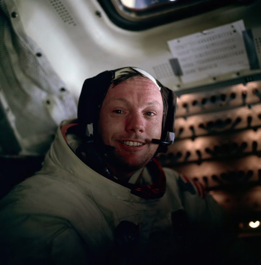 Neil Armstrong (Source: Wikimedia)