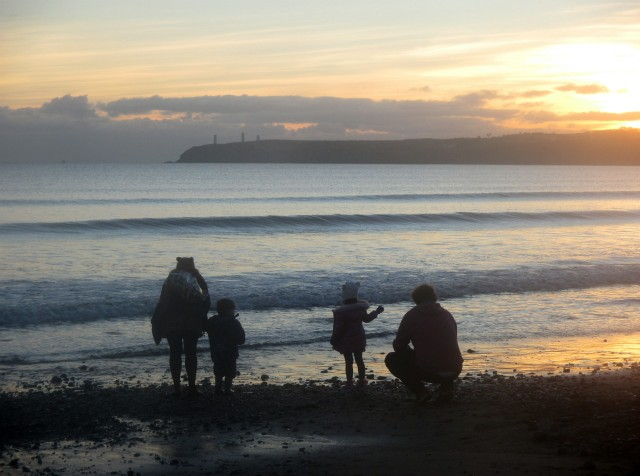 Memory-Making on Tramore Beach, Co. Waterford