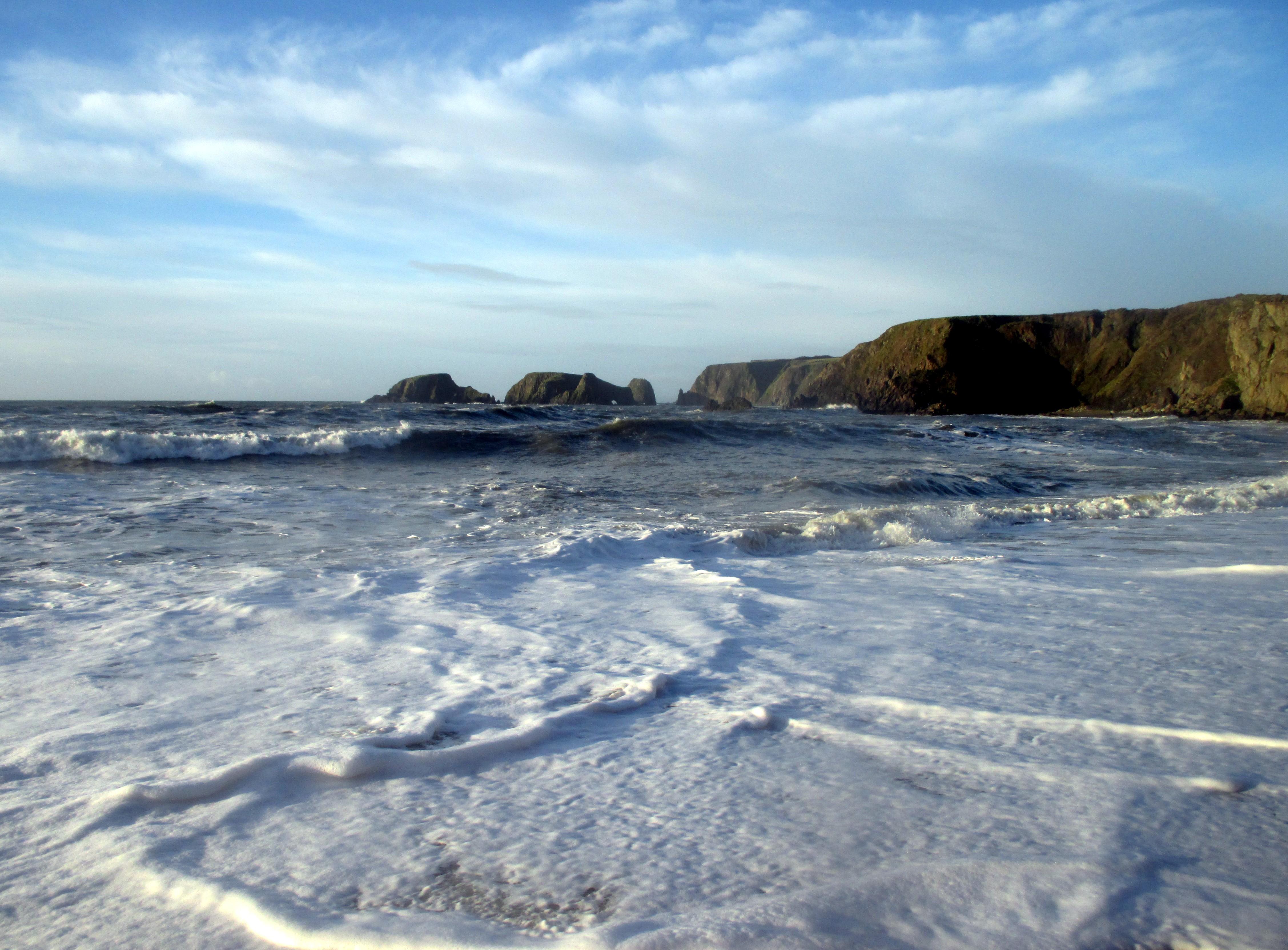 Soothing Garrarus Beach, Co. Waterford