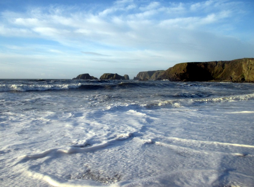 Soothing Garrarus Beach, Co. Waterford