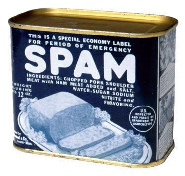 WWII era SPAM can. Photo courtesy of Hormel Foods Corporation