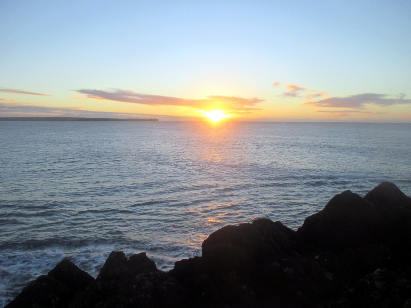A New Dawn over Tramore Bay, Co. Waterford