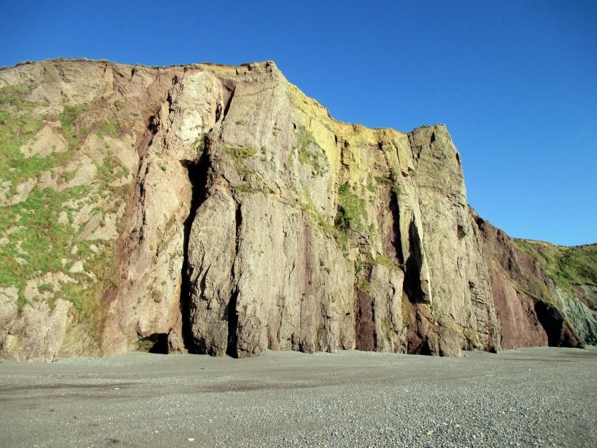 Frilly Cliffs