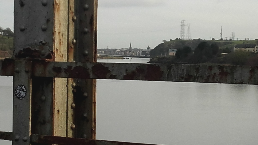 Old Red Iron looking towards Waterford City