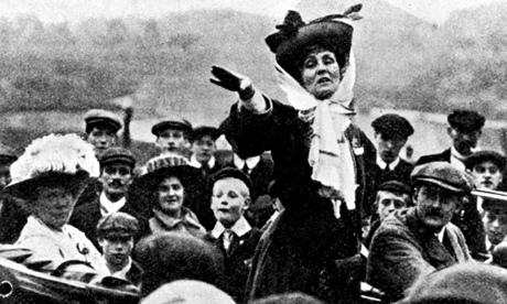 Emmeline Pankhurst (1858-1928) www.guardian.com