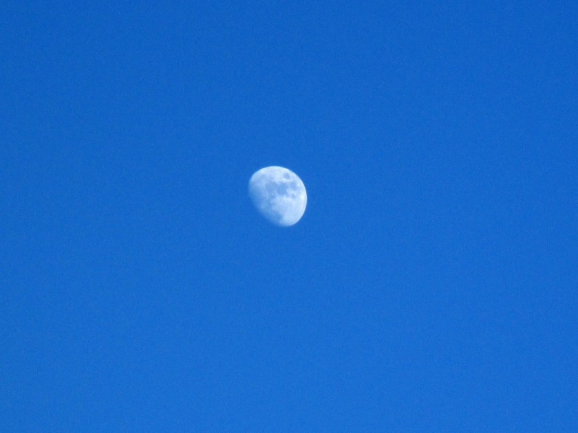 The Moon over Co. Waterford