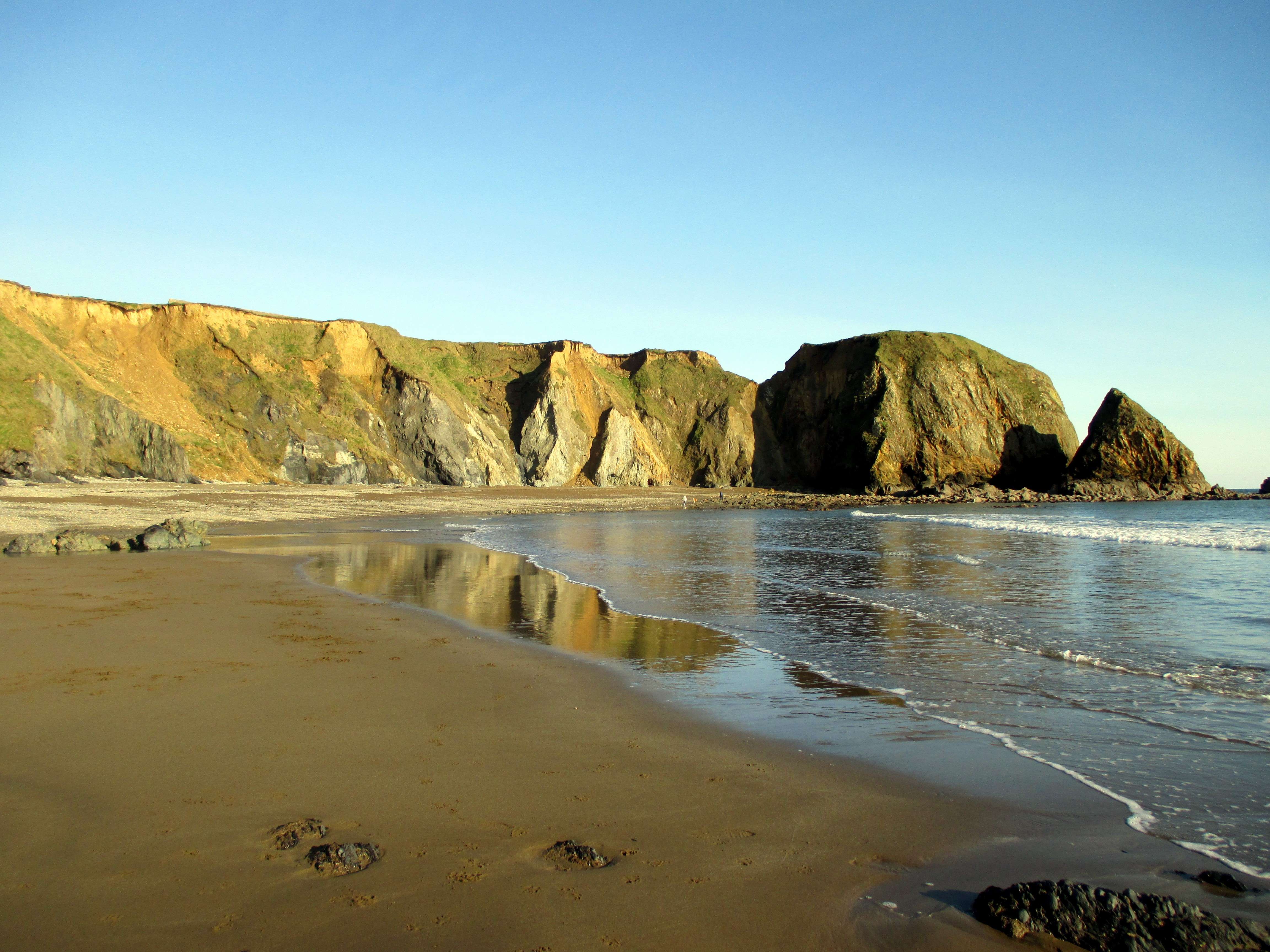 Reflection on the Copper Coast, Co. Waterford