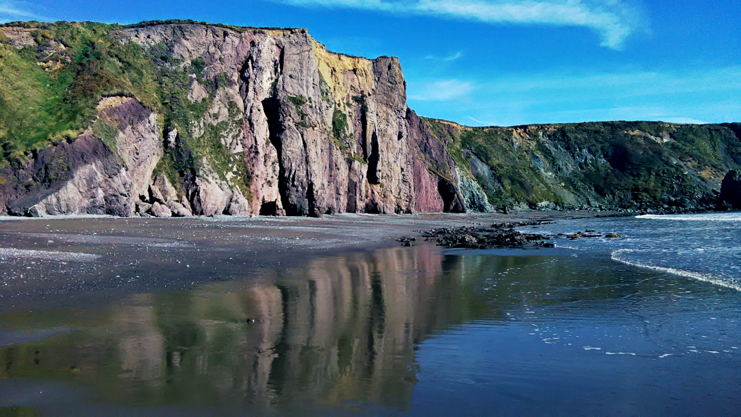 The Copper Coast, Co. Waterford.